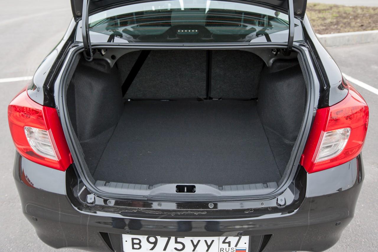 эксперты признали, возможности багажника датсун он до фото время
