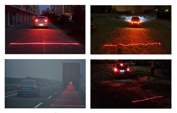Противотуманный лазер на машину фото