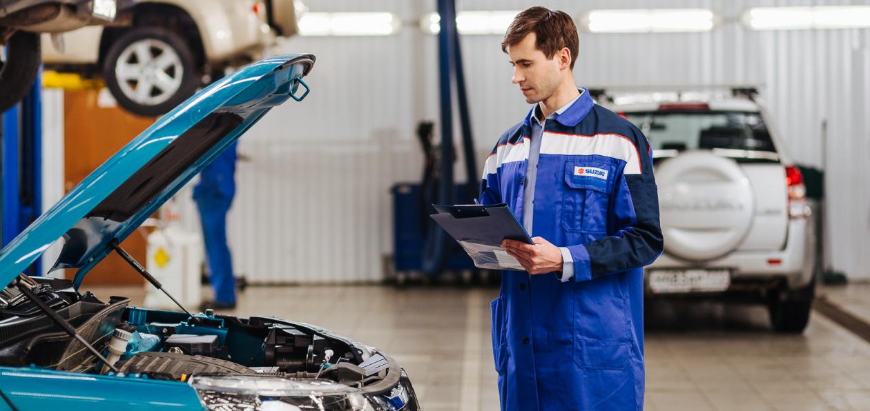Suzuki запустила сервисные акции по подготовке к летнему сезону