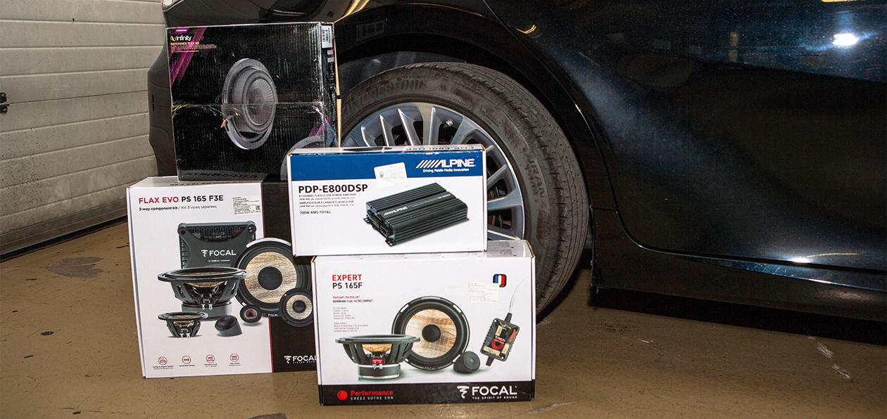 Улучшаем штатную акустику в машине: три недорогие системы для бизнес-седана