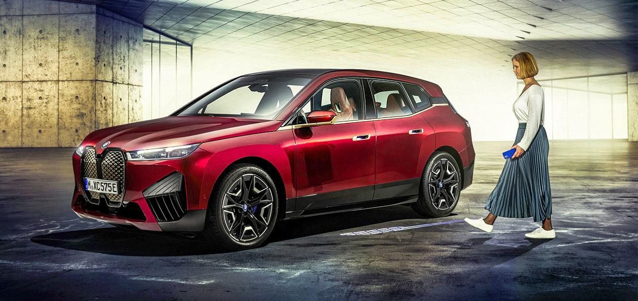 BMW iX получит «продвинутую» систему доступа в салон
