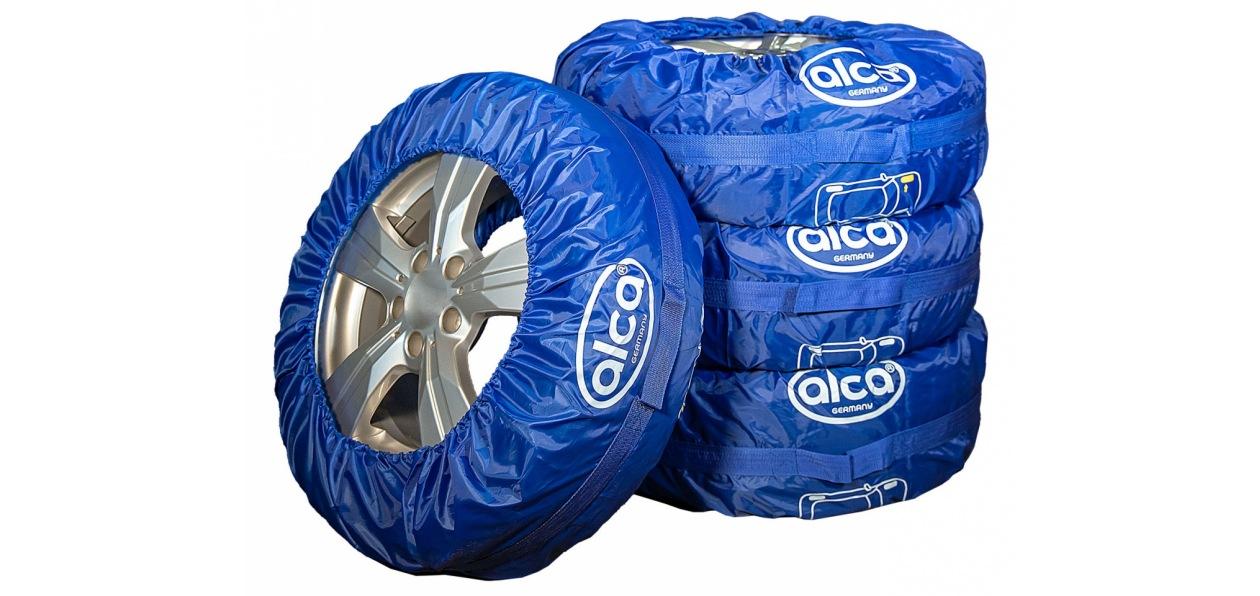 Бренд alca представил чехлы для хранения шин и колес