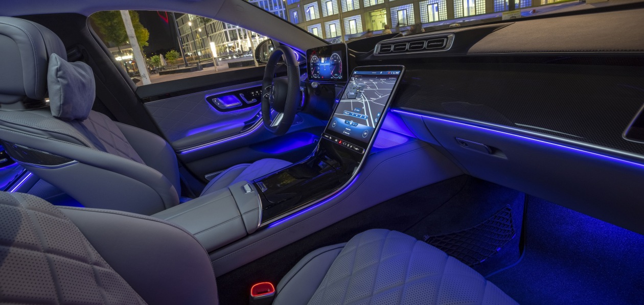 Hella разработала систему подсветки салона для нового Mercedes S-Class