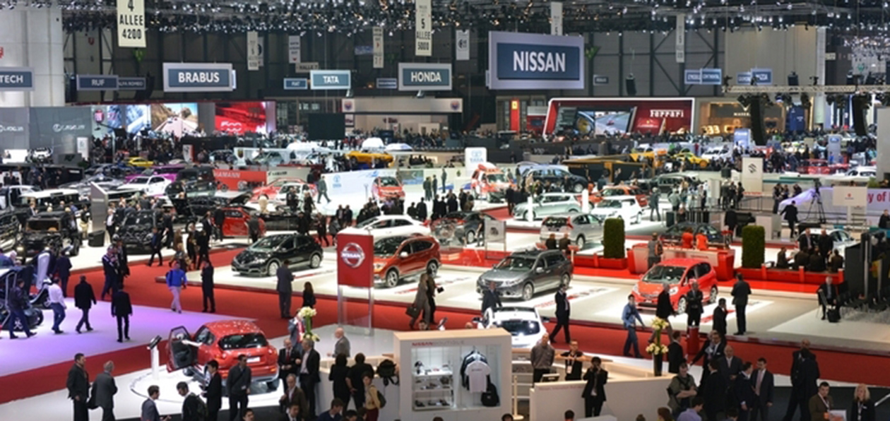 Автомобильная выставка