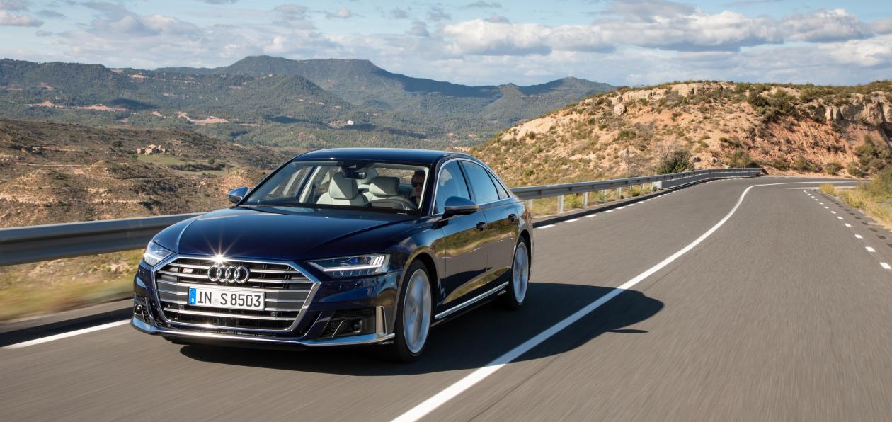 Новый Audi S8 стал доступен для заказа в России