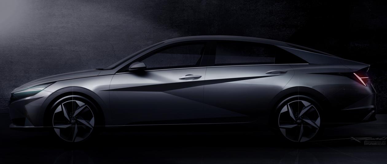 Hyundai показал Elantra 2021 модельного года