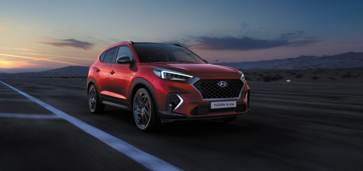 Hyundai привез в Россию спортивную версию кроссовера Tucson