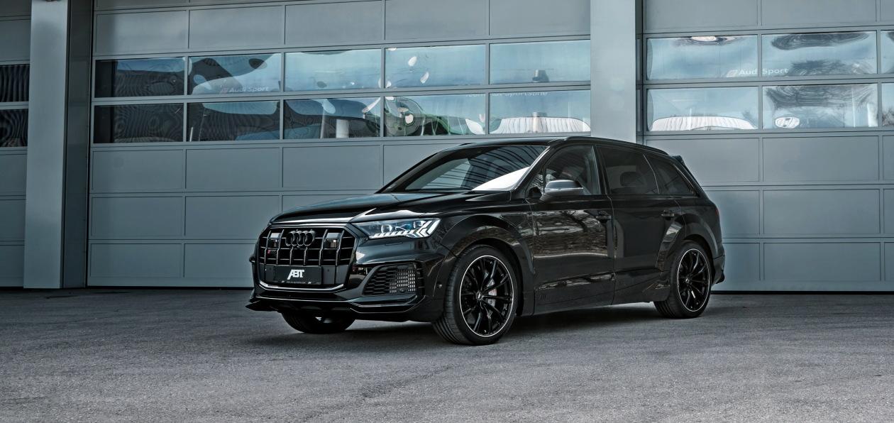 ABT разработал аэродинамический «обвес» для Audi SQ7