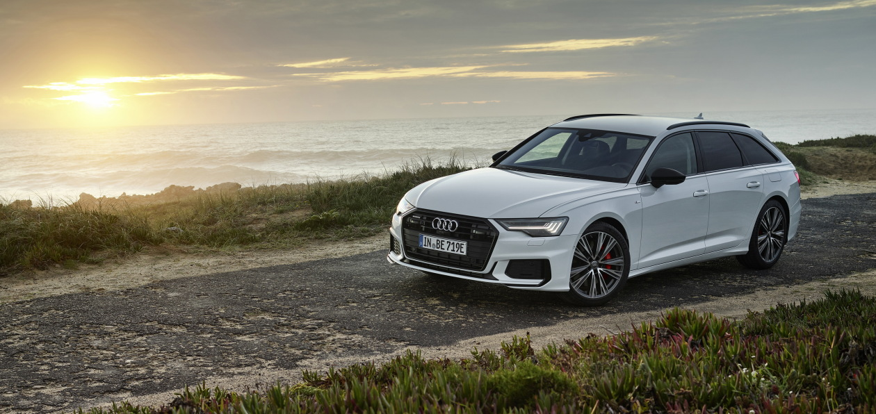 Универсал Audi A6 стал подключаемым гибридом