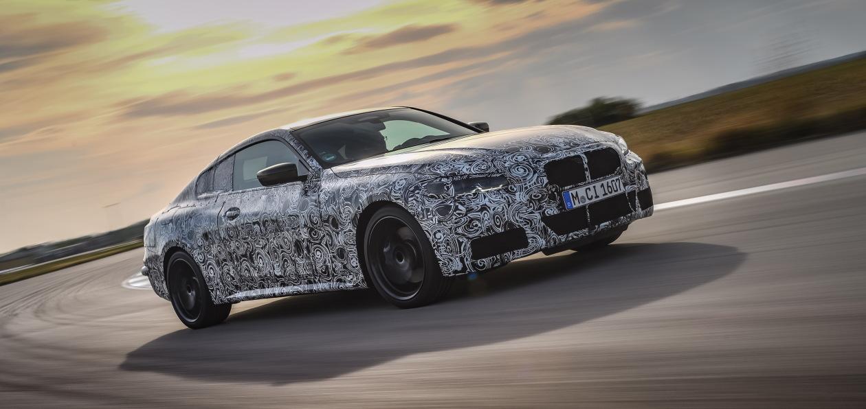 Новый BMW 4 Series Coupe вышел на финальную часть испытаний