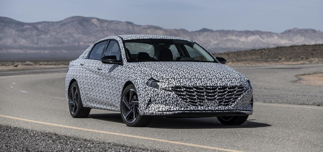 Hyundai готовит к премьере спортивную версию новой Elantra