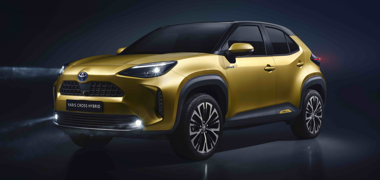 Toyota представила новый компактный кроссовер