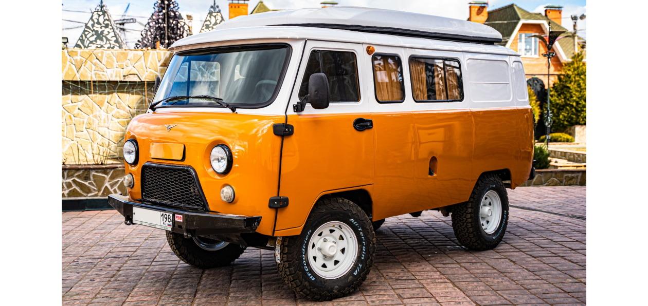 УАЗ представил кемпер на базе «Буханки»