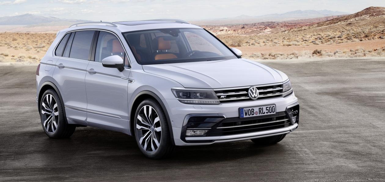 Volkswagen готовит премьеру обновленного Tiguan