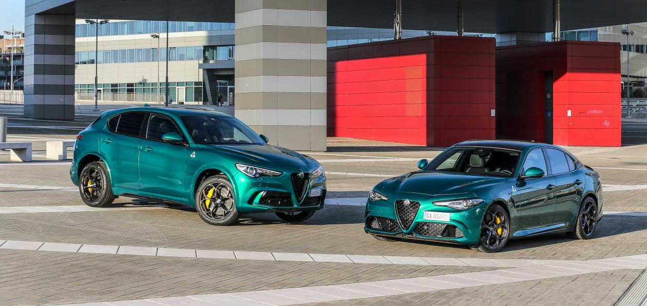 Alfa Romeo обновила топовые версии седана Giulia и кроссовера Stelvio