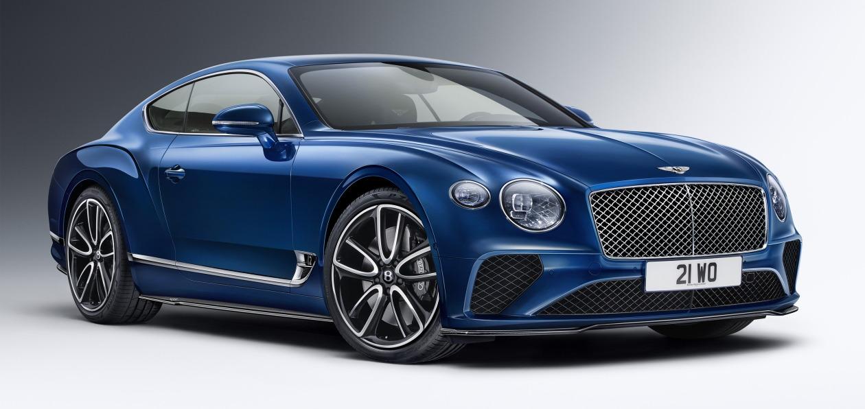 Bentley Continental GT и Bentayga получили новый стайлинг-пакет