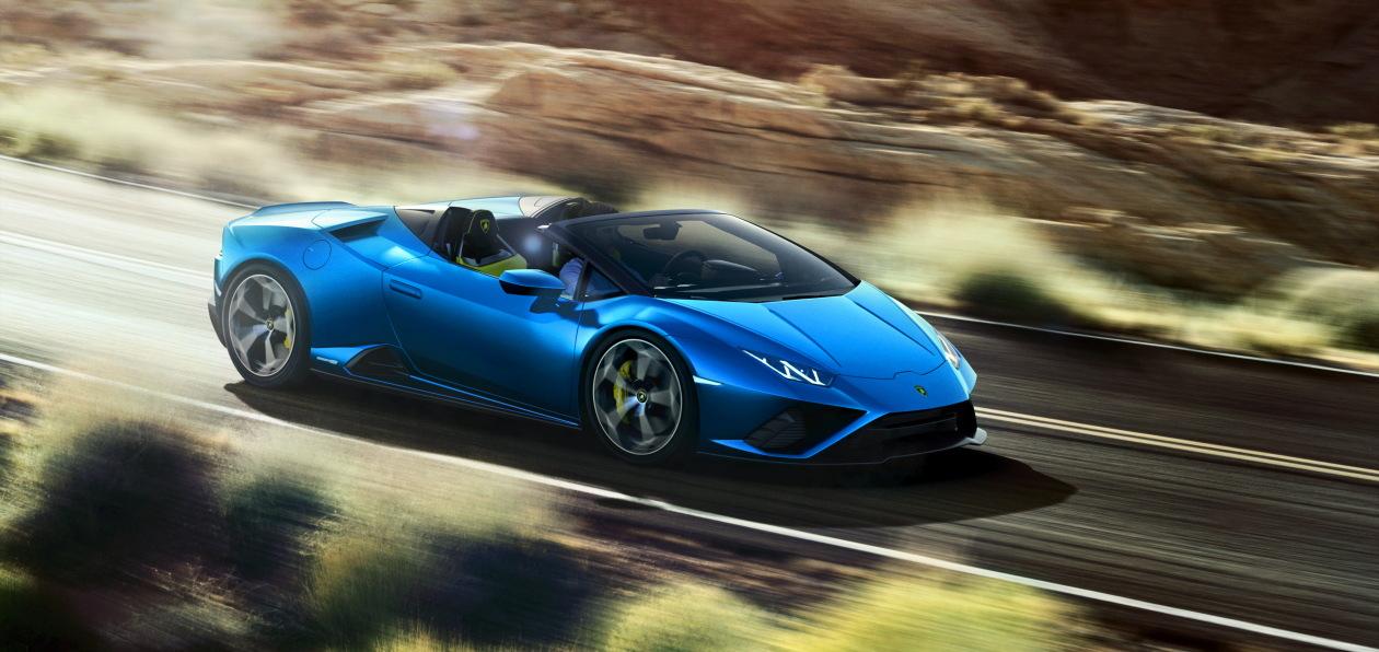 Заднеприводному Lamborghini Huracan Evo «снесло крышу»