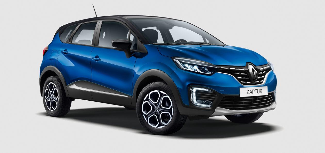 Renault представил новый Kaptur: немецкий мотор и новая платформа