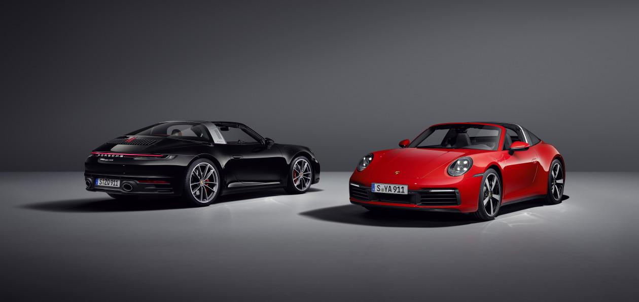 Porsche представил новый 911 Targa