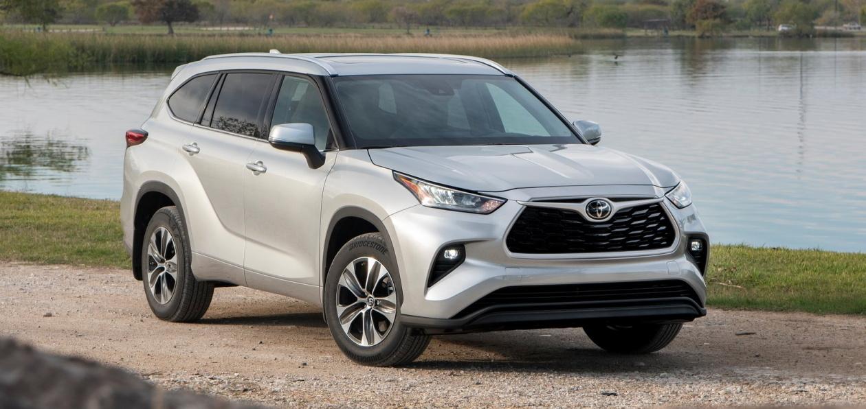 В Россию едет новый Toyota Highlander