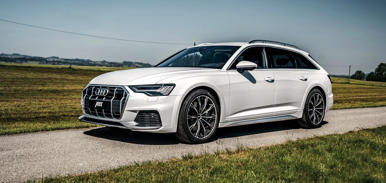 ABT доработал новый Audi A6 allroad quattro