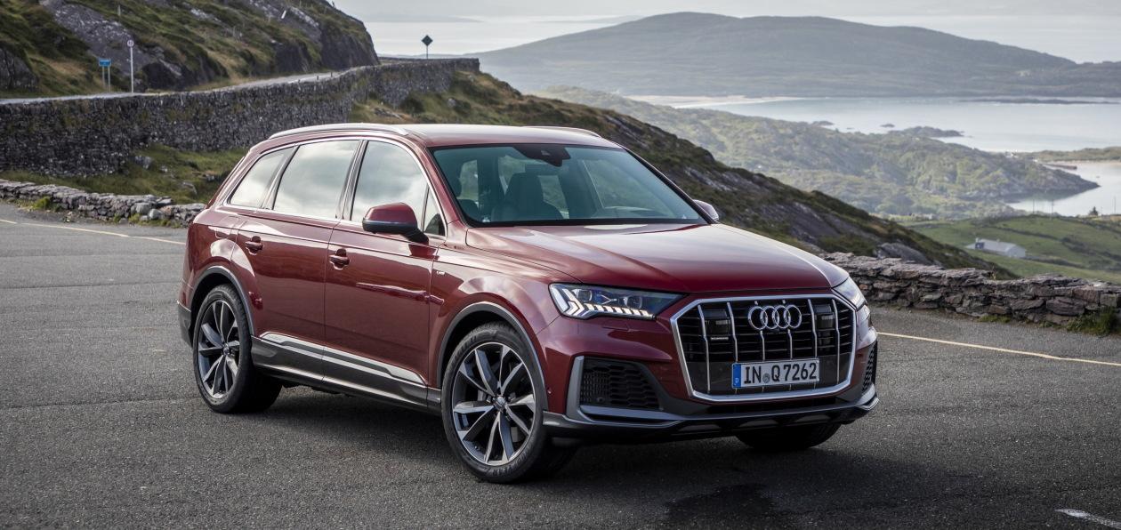 Новый Audi Q7 доехал до России