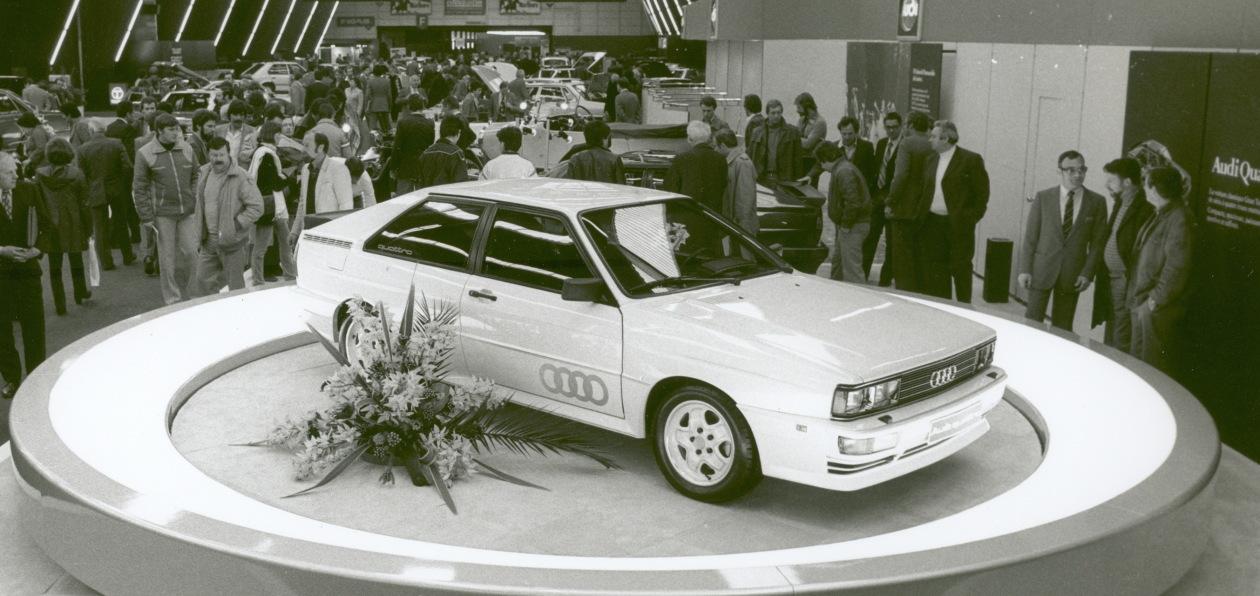 Audi отмечает 40-летие системы quattro