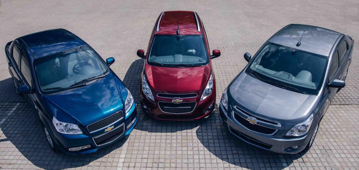 В Россию вернулись массовые модели Chevrolet
