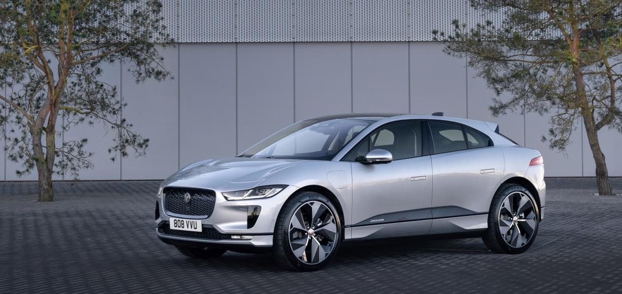 Jaguar обновил I-Pace