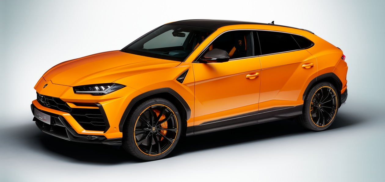 Lamborghini Urus получит новый стайлинг-пакет