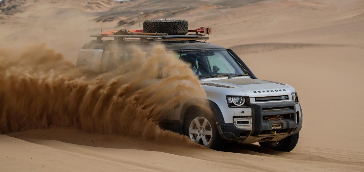 Новый Land Rover Defender доступен для заказа в России