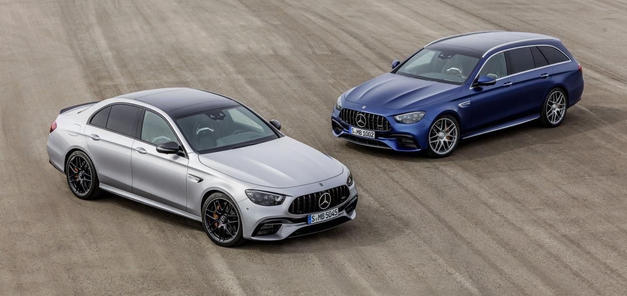 Mercedes обновил топовые AMG-версии седана и универсала E-Class