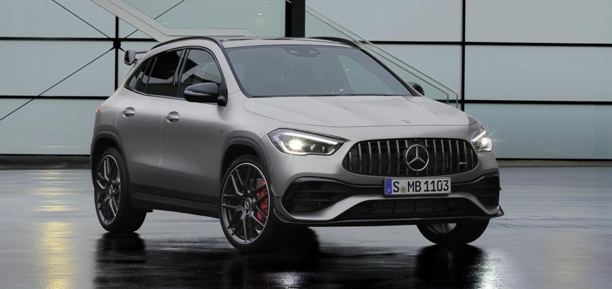 Mercedes начал принимать заказы на AMG-версии нового GLA