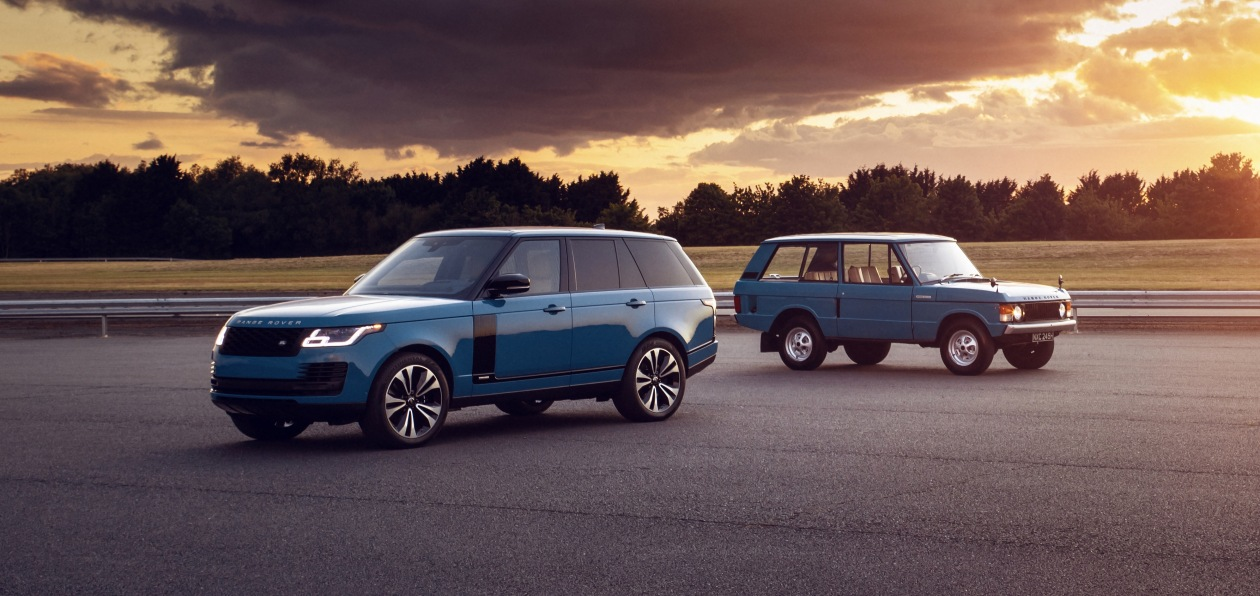 Range Rover получил юбилейную спецверсию