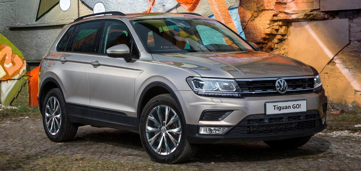 Volkswagen выпустил продолжение «зимней» версии Tiguan