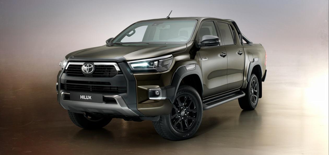 Toyota показала обновленный пикап Hilux