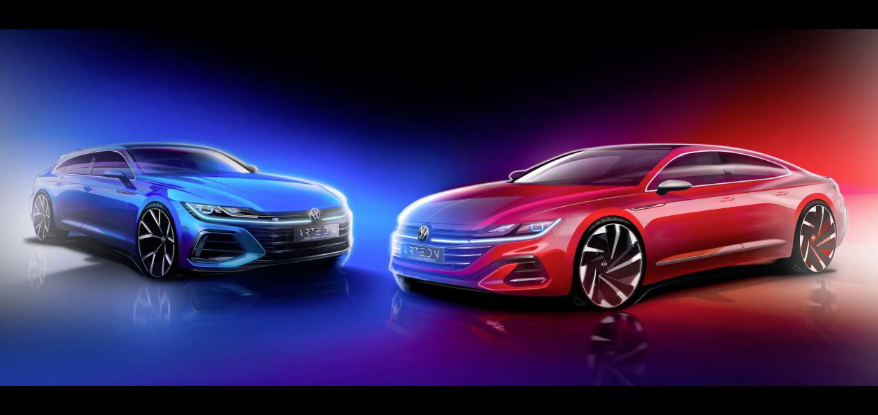 Volkswagen готовит премьеру обновленного Arteon