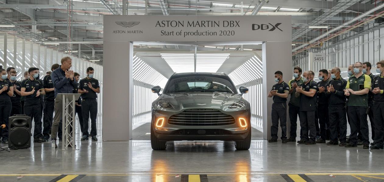 Кроссовер Aston Martin пошел в серию