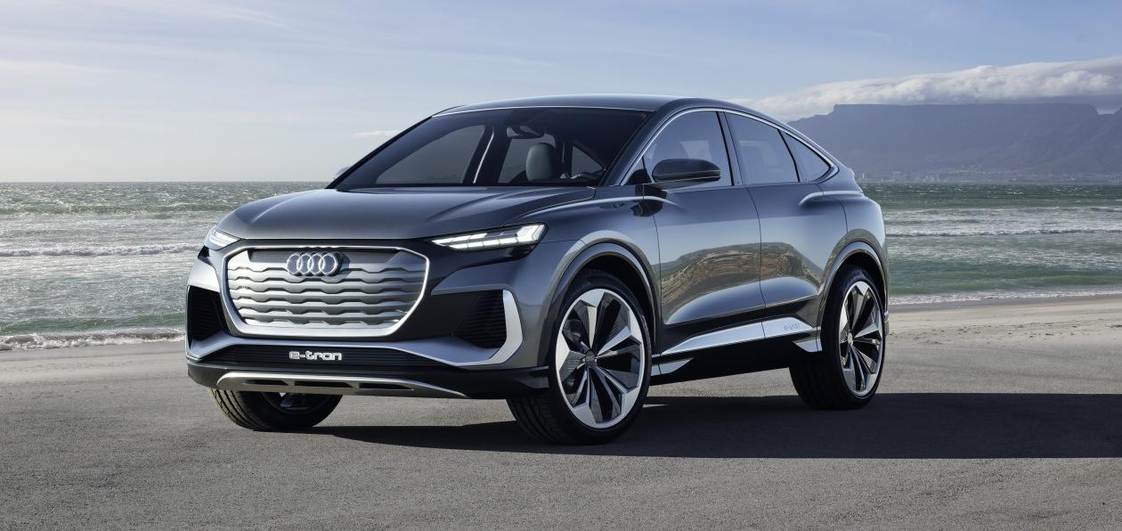 Audi представила новое электрическое кросс-купе