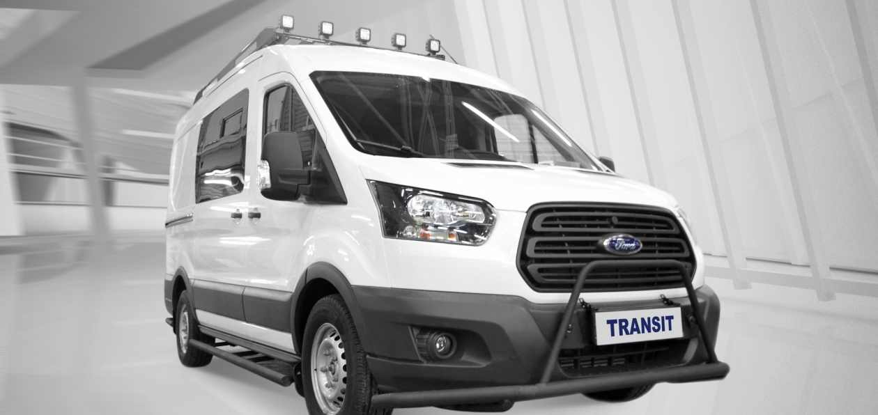 Ford представил в России Transit для охотников и рыболовов