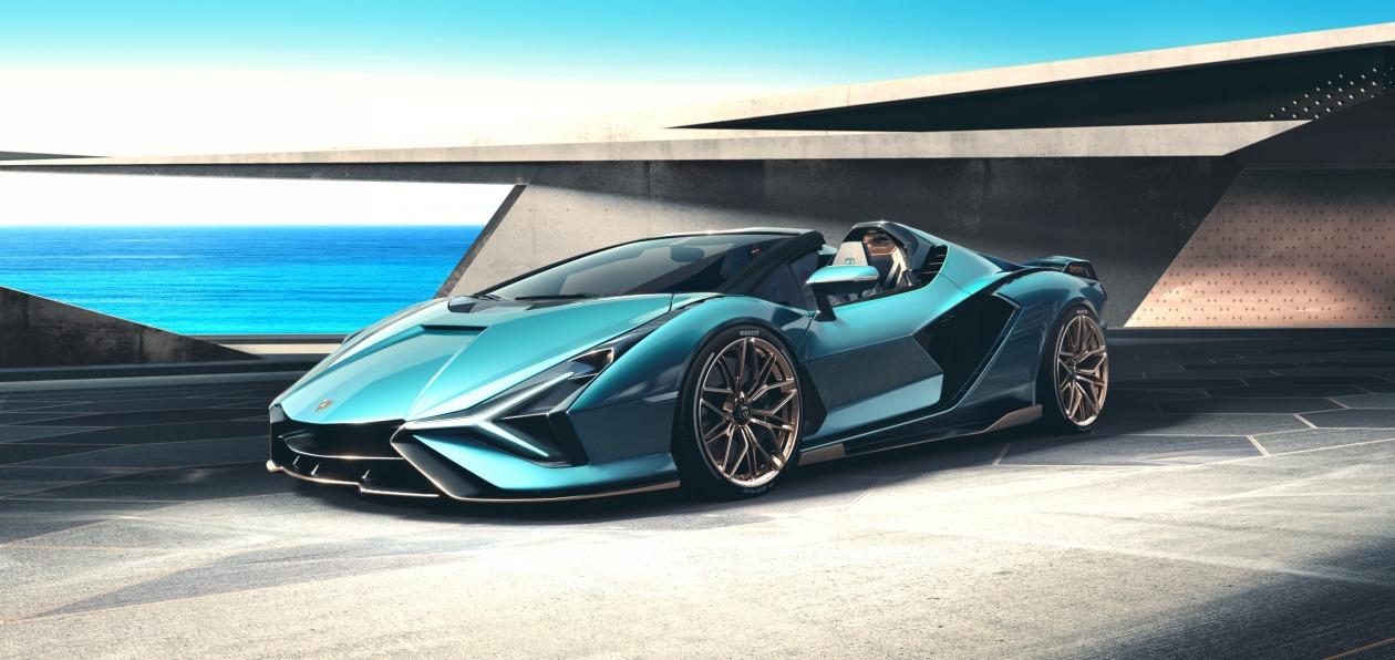 Новому Lamborghini Sian «снесло крышу»