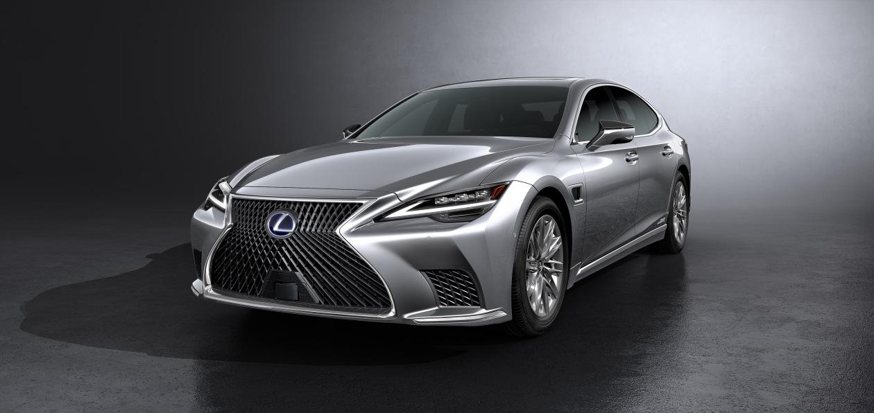 Lexus обновил флагманский седан LS