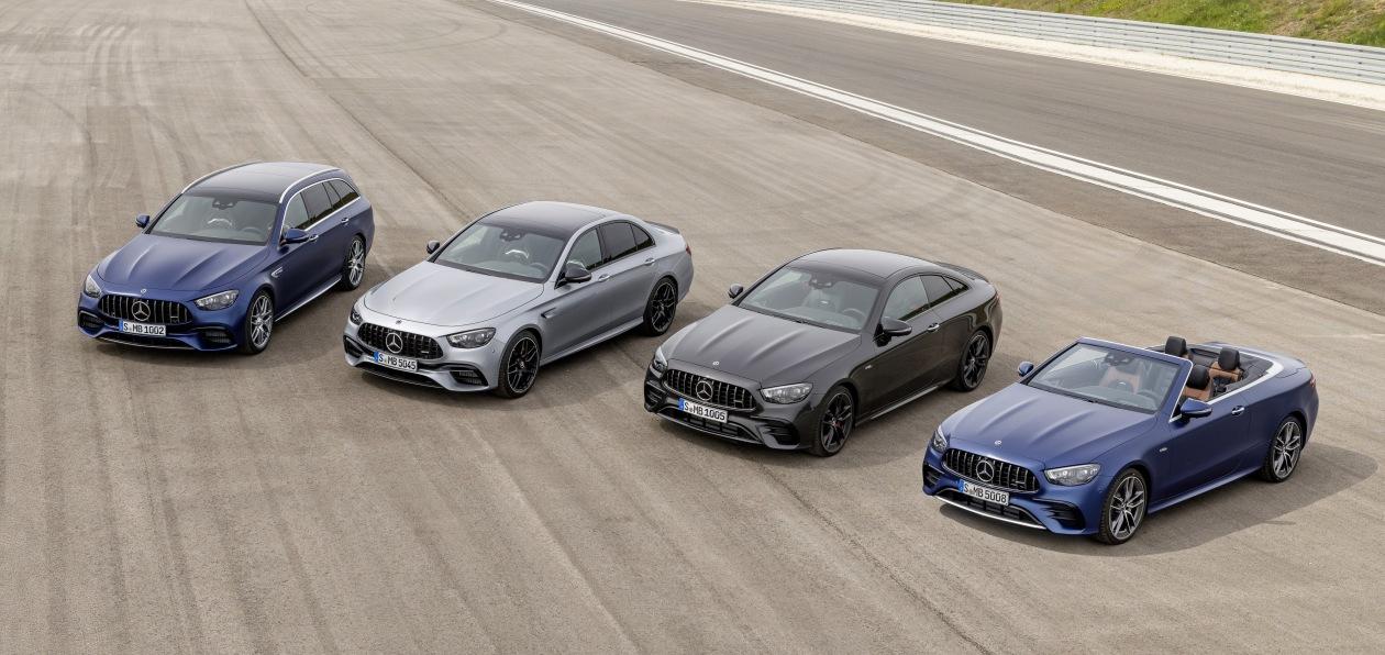 Mercedes оценил в евро AMG-версии моделей обновленного семейства E-Class