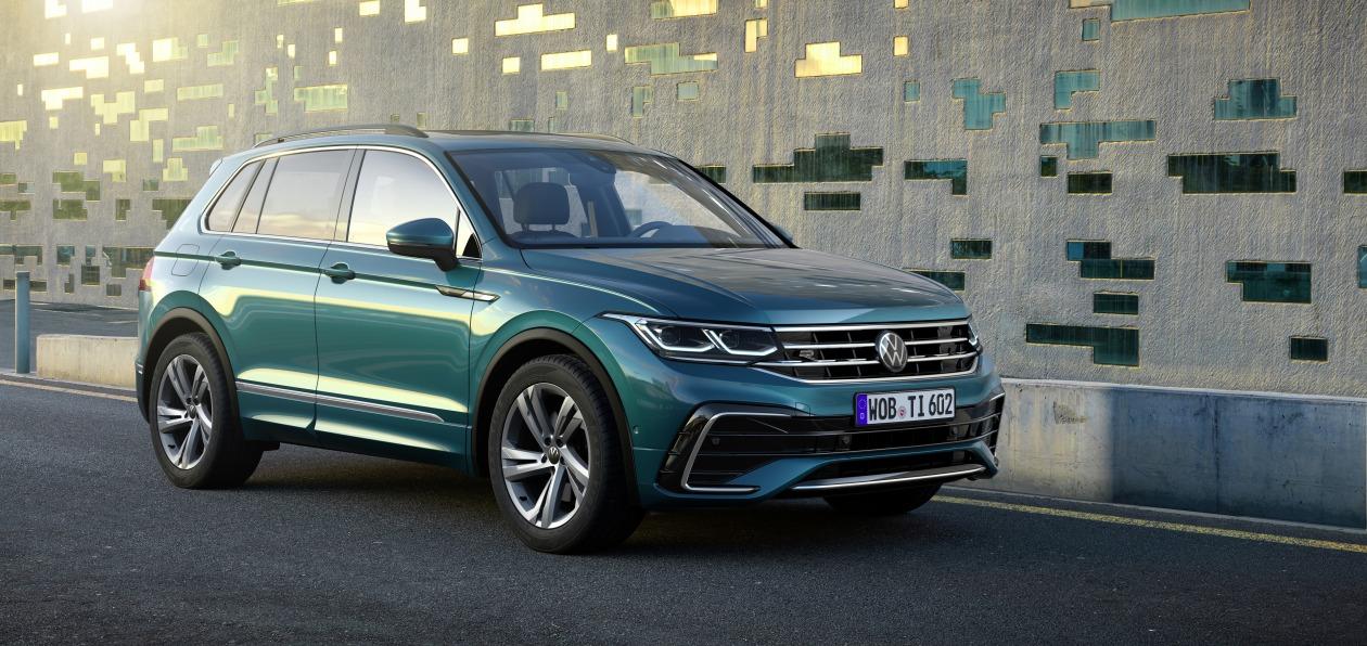Обновленный Volkswagen Tiguan стал доступен для заказа