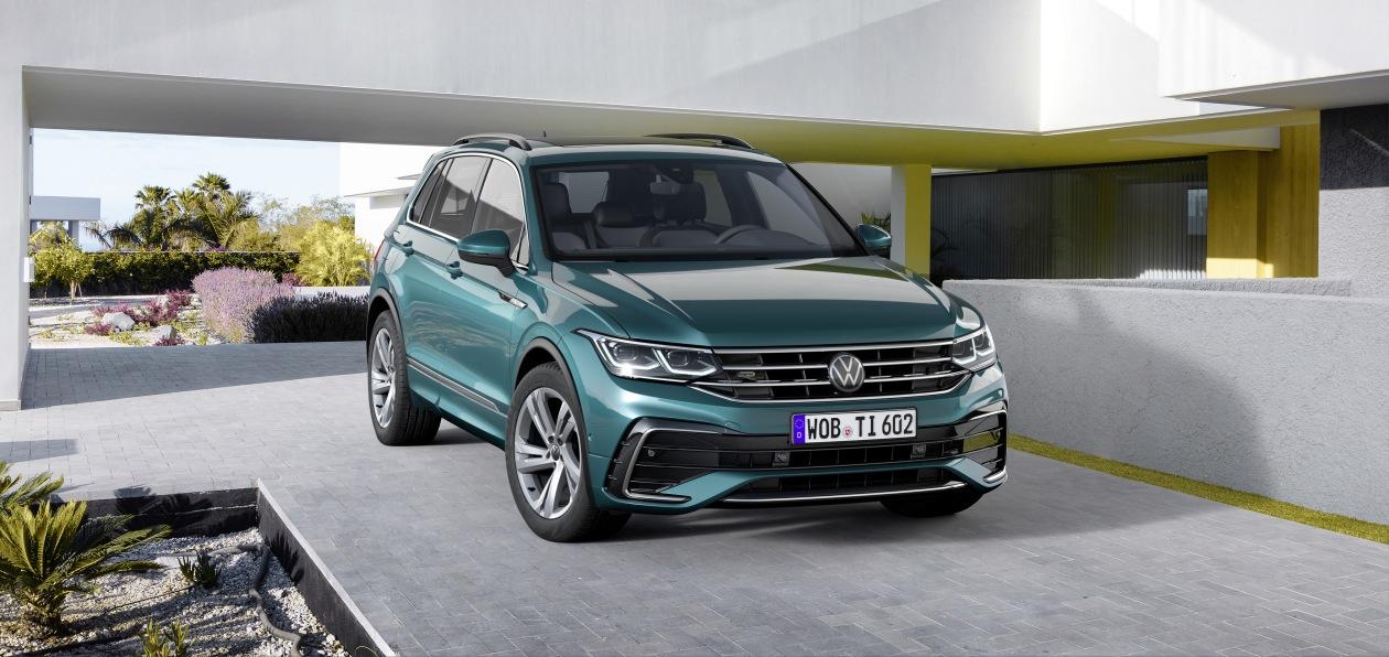 Volkswagen обновил кроссовер Tiguan