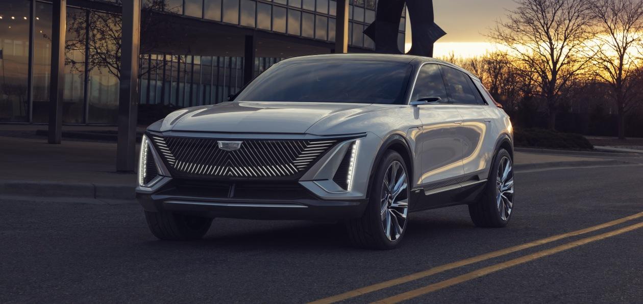 Cadillac представил концептуальный электрокроссовер