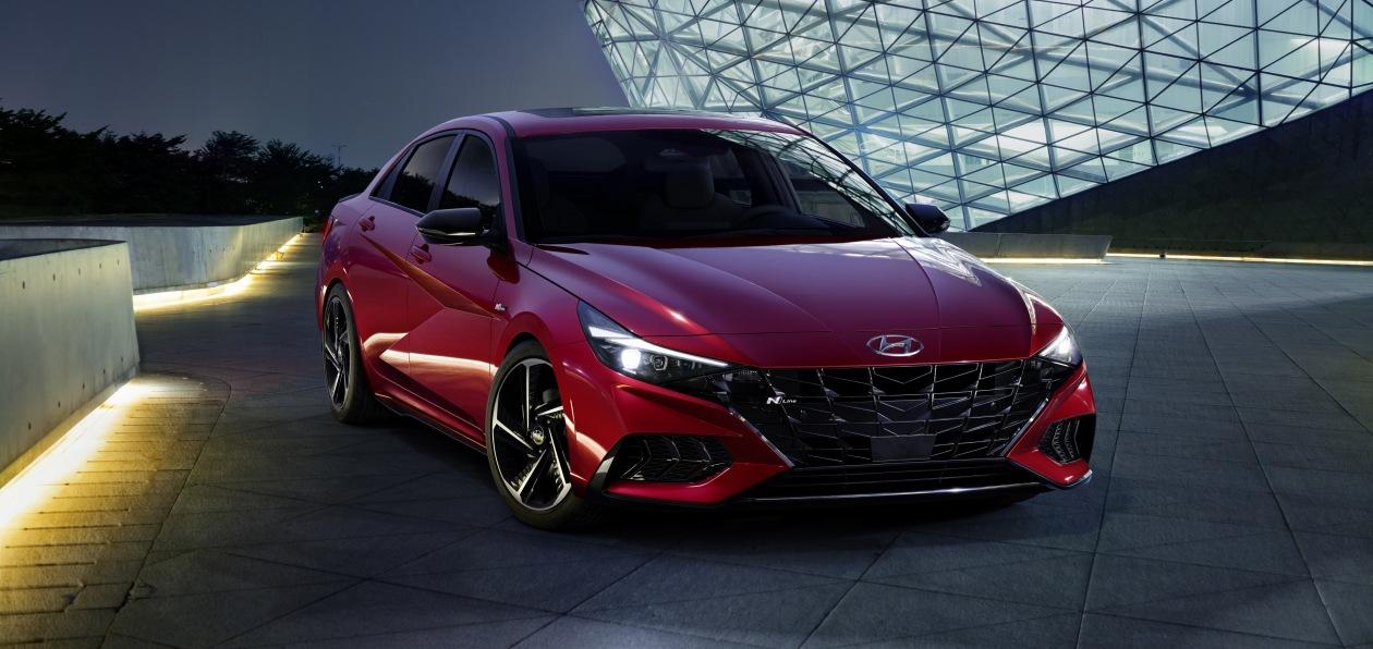Hyundai показал новую Elantra N Line