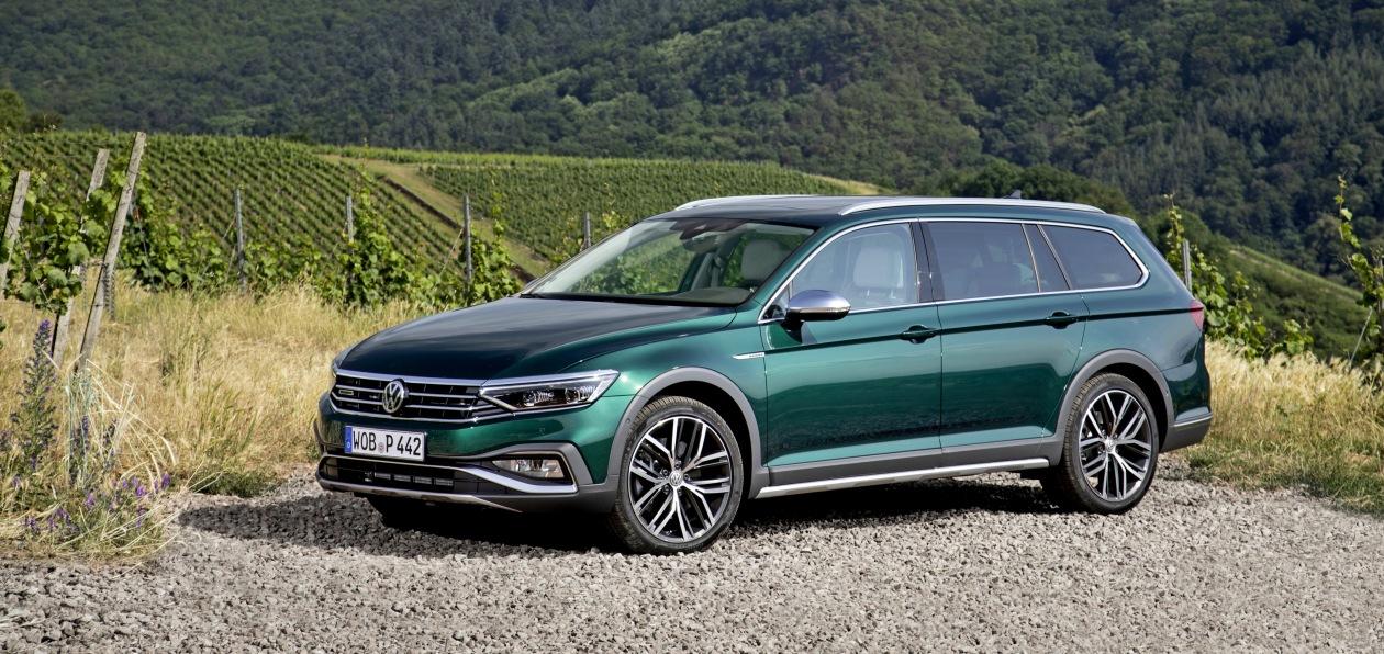 Volkswagen Passat Alltrack снят с продаж в Великобритании