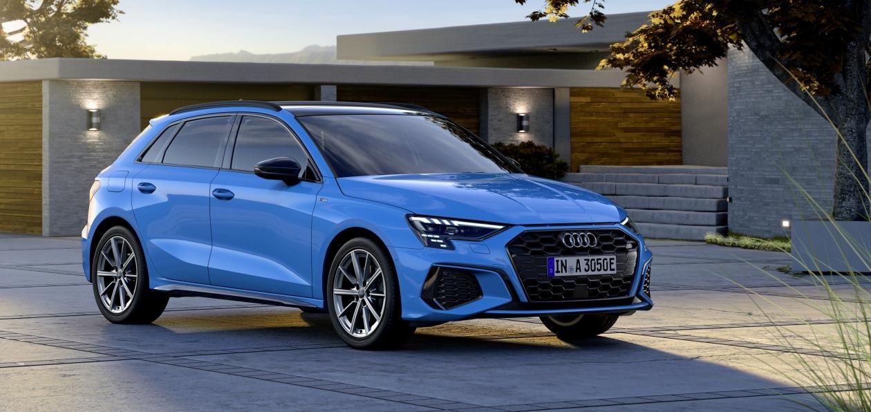 Audi показала гибридный A3 Sportback