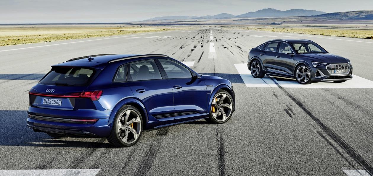 Электрокроссоверы Audi e-tron и e-tron Sportback получили новую топ-версию